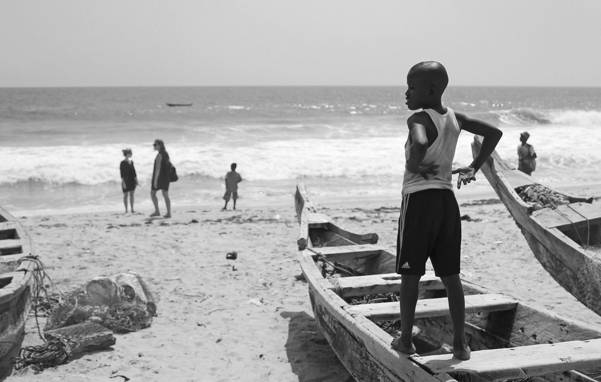 Grand Bassam, playa en Costa de Marfil