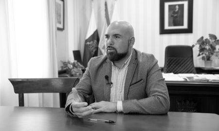 Marco González, alcalde de Puerto de la Cruz