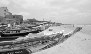 Cayucos en Dakar