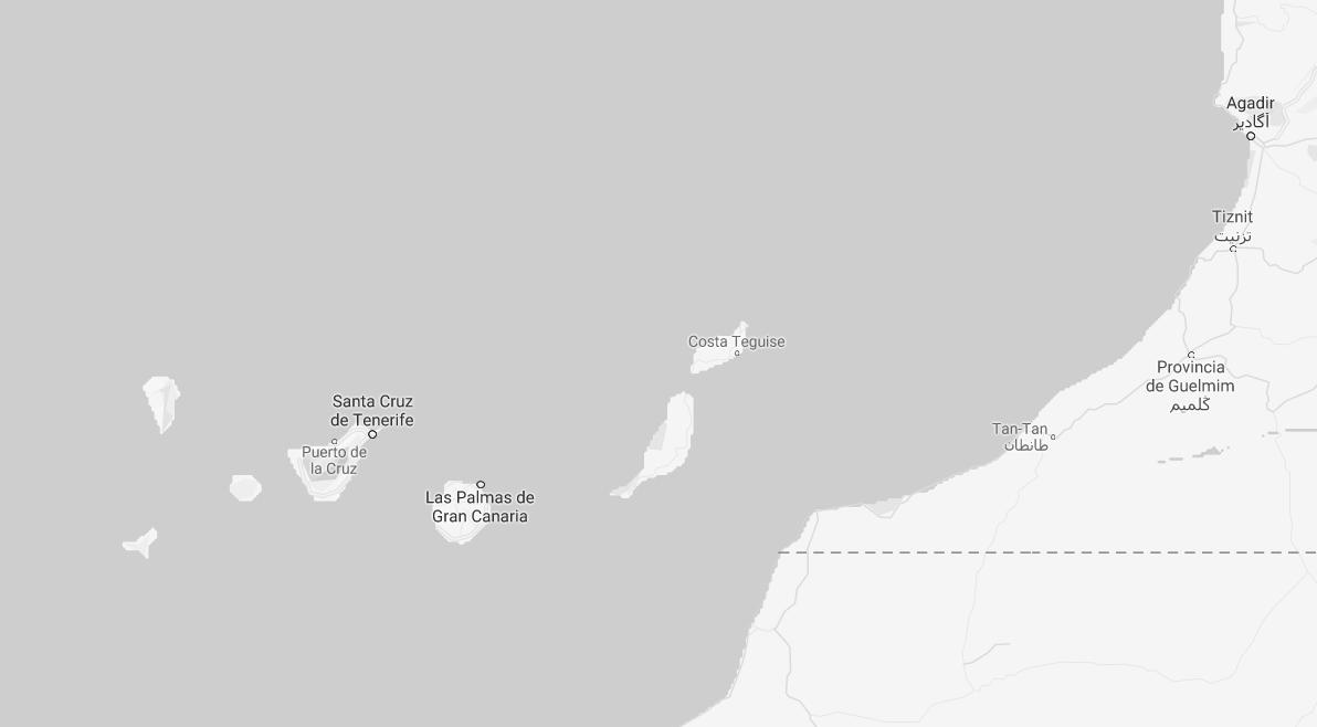 Aguas territoriales y Sáhara occidental