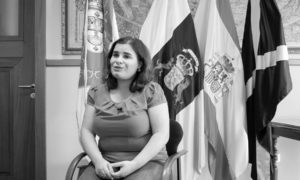 María Concepción Brito, alcaldesa de Candelaria