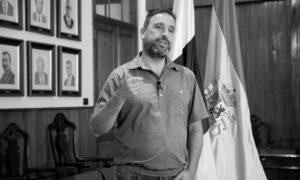 Juan Ramón Martín, alcalde de Arafo