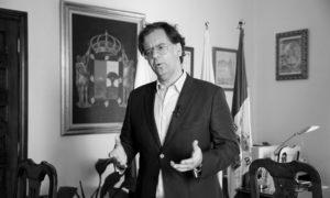 Francis González, alcalde de Icod de los Vinos