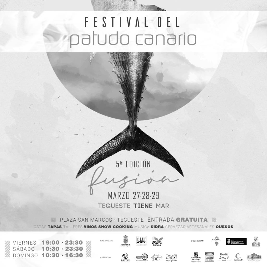 Cartel Festival del Patudo Canario