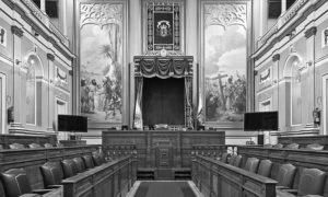 El Parlamento de Canarias suspende su actividad
