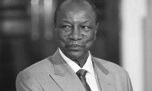 Presidente de Guinea Alpha Conde
