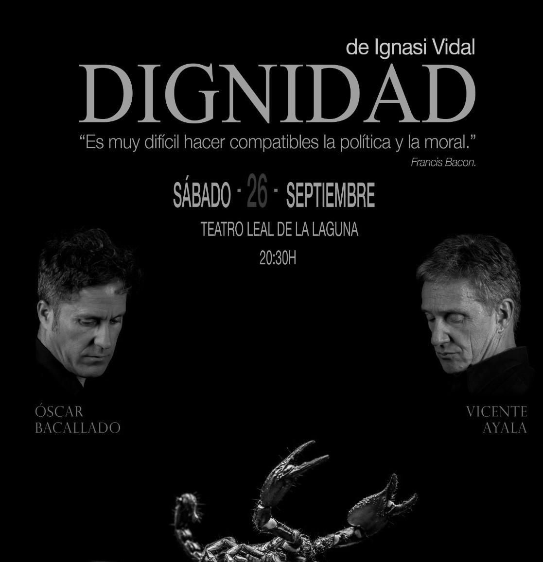 cartel la dignidad