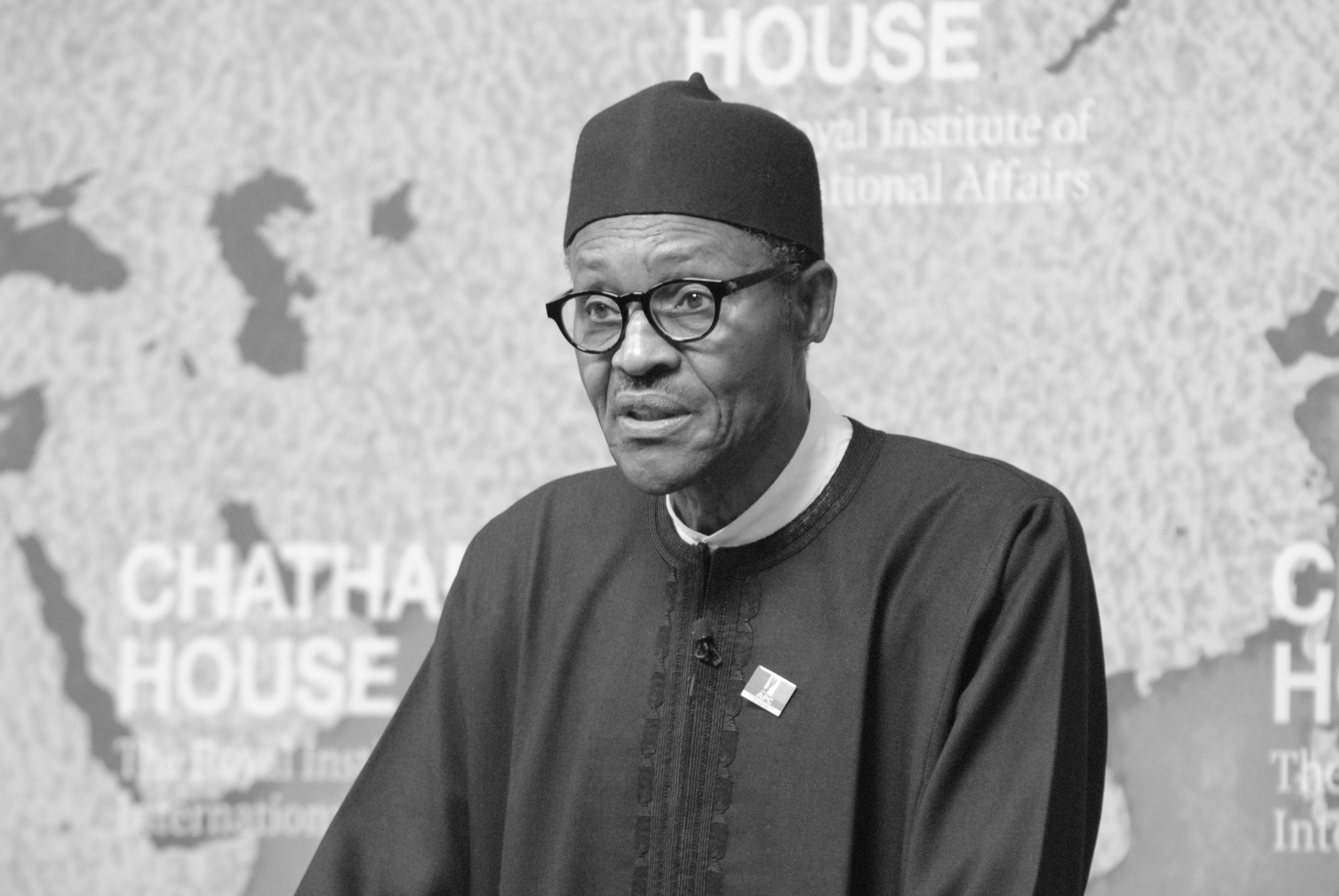Muhammadu Buhari, presidente de Nigeria